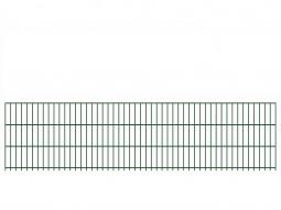 "Doppelstab-Gittermatte ""leicht"" 6/5/6 grün H 630 mm"