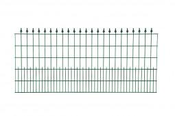 "Schmuckzaunelement ""Möhne"" grün H 900 mm"