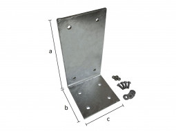 Gabionen-Bodenplatte verzinkt T 200 mm