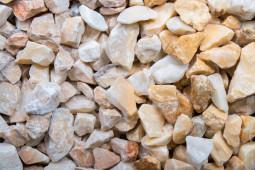 Kristall gelb Marmor 250 kg