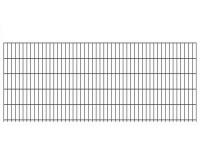 """Doppelstab-Gittermatte """"leicht"""" 6/5/6 anthrazit H 1030 mm"""