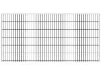 "Doppelstab-Gittermatte ""schwer"" 8/6/8 anthrazit H 1230 mm"