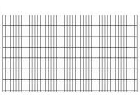 """Doppelstab-Gittermatte """"leicht"""" 6/5/6 anthrazit H 1430 mm"""