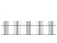 "Doppelstab-Gittermatte ""schwer"" 8/6/8 anthrazit H 630 mm"