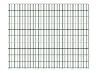 "Doppelstab-Gittermatte ""leicht"" 6/5/6 grün H 2030 mm"