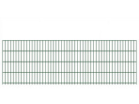 "Doppelstab-Gittermatte ""leicht"" 6/5/6 grün H 830 mm"