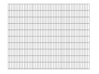 "Doppelstab-Gittermatte ""leicht"" 6/5/6 feuerverzinkt H 2030 mm"