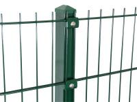 """Gitterpfosten Typ """"K"""" grün für Zaunhöhe 1030 mm"""
