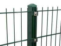 """Gitterpfosten Typ """"P"""" grün für Zaunhöhe 2030 mm"""