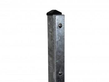 """Gitterpfosten Typ """"D"""" feuerverzinkt für Zaunhöhe 630 mm"""