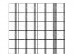 "Doppelstab-Gittermatte ""schwer"" 8/6/8 anthrazit H 2230 mm"