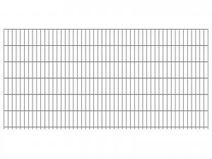 "Doppelstab-Gittermatte ""leicht"" 6/5/6 feuerverzinkt H 1230 mm"