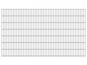 "Doppelstab-Gittermatte ""schwer"" 8/6/8 feuerverzinkt H 1430 mm"