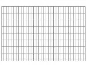 "Doppelstab-Gittermatte ""leicht"" 6/5/6 feuerverzinkt H 1630 mm"