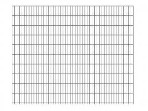 "Doppelstab-Gittermatte ""schwer"" 8/6/8 feuerverzinkt H 2030 mm"