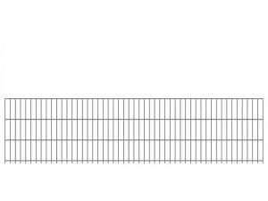 "Doppelstab-Gittermatte ""schwer"" 8/6/8 feuerverzinkt H 630 mm"