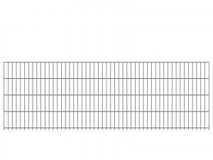 "Doppelstab-Gittermatte ""leicht"" 6/5/6 feuerverzinkt H 830 mm"