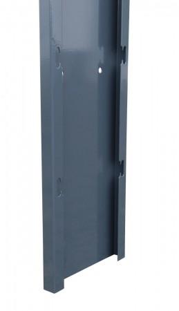 Gabionen-Seitenblech anthrazit L 2500 x T 200 mm
