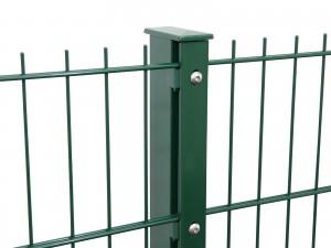 """Gitterpfosten Typ """"F"""" grün für Zaunhöhe 2030 mm"""