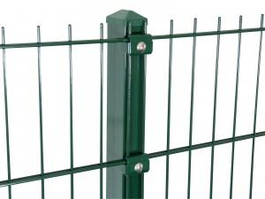 """Gitterpfosten Typ """"K"""" grün für Zaunhöhe 830 mm"""