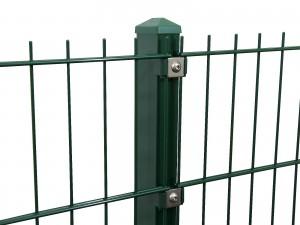 """Gitterpfosten Typ """"P"""" grün für Zaunhöhe 2230 mm"""